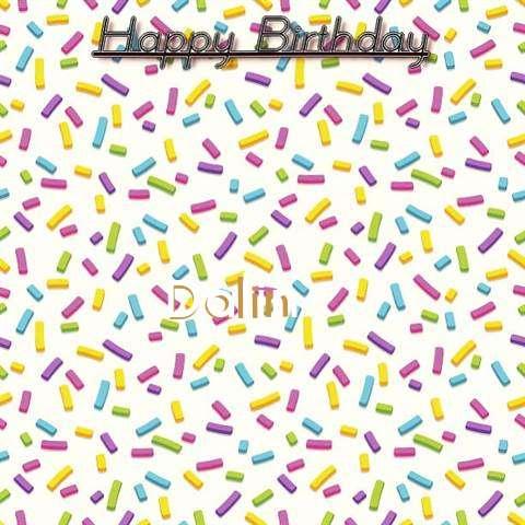 Happy Birthday Wishes for Dalin