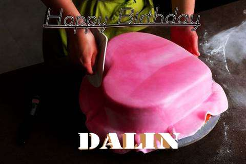 Happy Birthday Cake for Dalin
