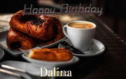 Happy Birthday Dalina Cake Image