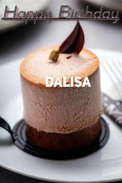 Happy Birthday Cake for Dalisa