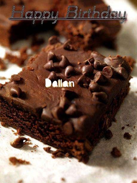 Happy Birthday Dallan Cake Image