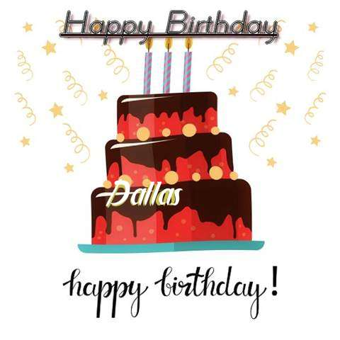 Happy Birthday Cake for Dallas