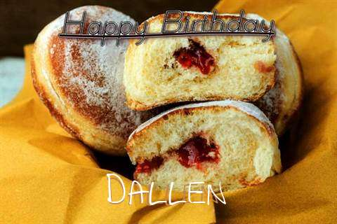 Happy Birthday Cake for Dallen