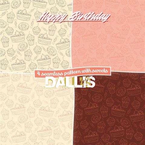 Birthday Images for Dallis