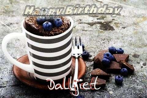 Happy Birthday Dalljiet Cake Image