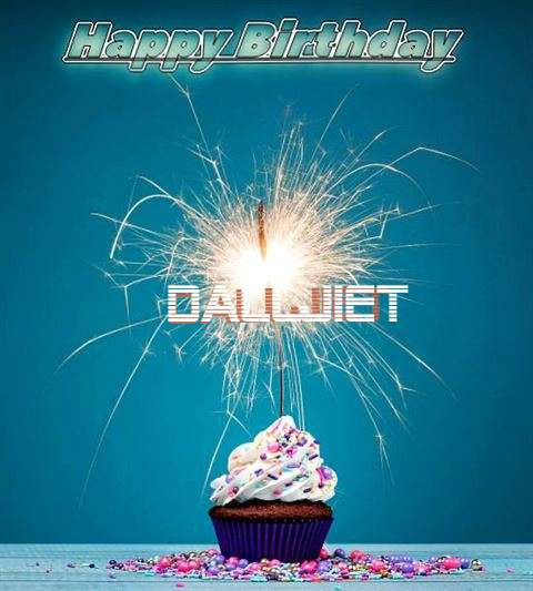 Happy Birthday Wishes for Dalljiet