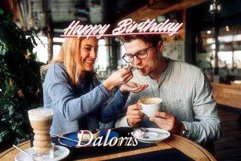 Happy Birthday Daloris Cake Image
