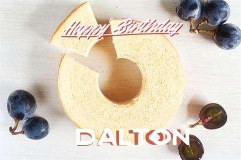 Happy Birthday Dalton Cake Image