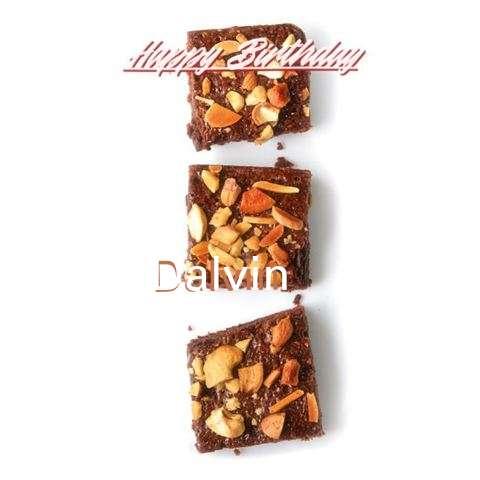 Happy Birthday Cake for Dalvin
