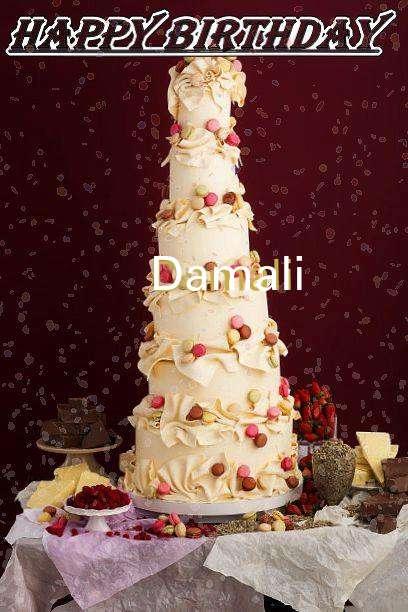 Happy Birthday Damali
