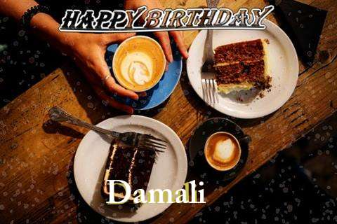 Happy Birthday to You Damali