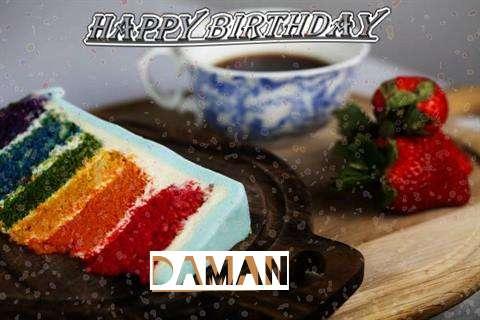 Happy Birthday Wishes for Daman