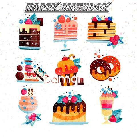 Happy Birthday to You Daman