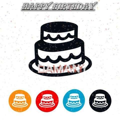 Happy Birthday Damany Cake Image