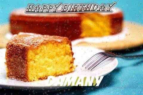 Happy Birthday Wishes for Damany
