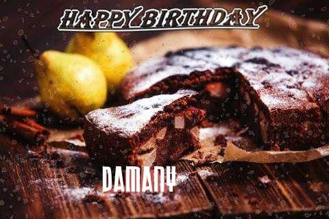 Happy Birthday to You Damany