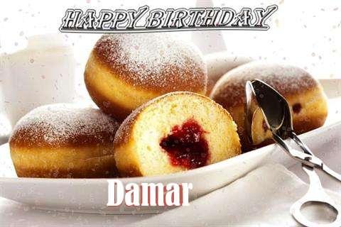 Happy Birthday Wishes for Damar