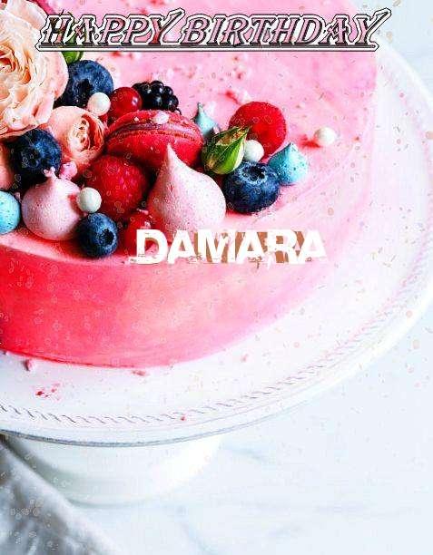 Happy Birthday Damara