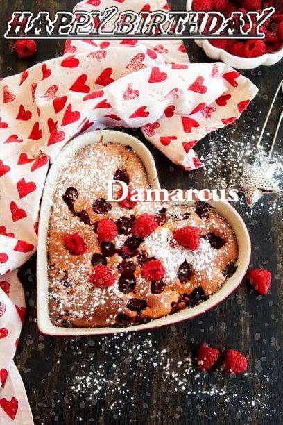 Happy Birthday Damarcus Cake Image