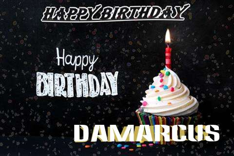 Happy Birthday to You Damarcus