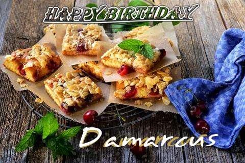 Happy Birthday Cake for Damarcus
