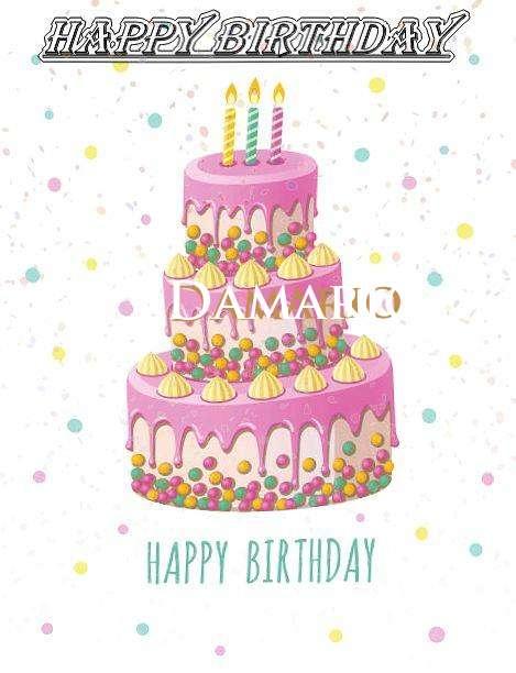 Happy Birthday Wishes for Damario