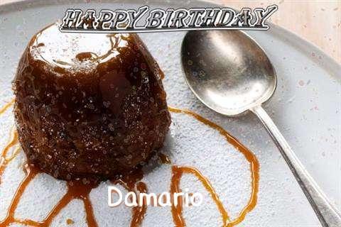 Happy Birthday Cake for Damario
