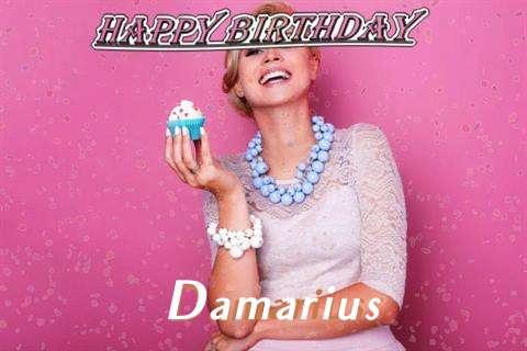 Happy Birthday Wishes for Damarius