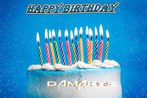 Happy Birthday Cake for Damarys