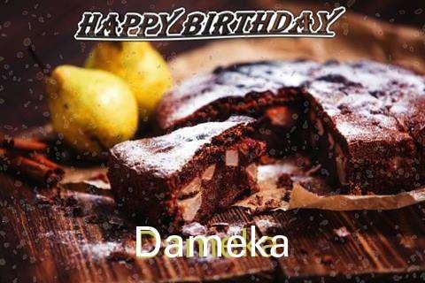 Happy Birthday to You Dameka
