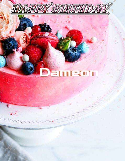 Happy Birthday Dameon