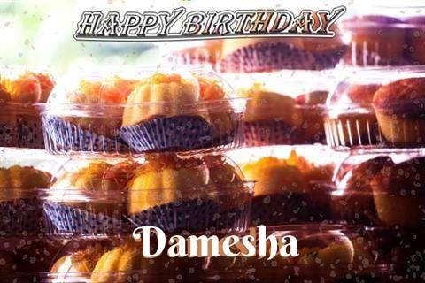 Happy Birthday Wishes for Damesha