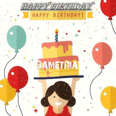 Happy Birthday Dametria