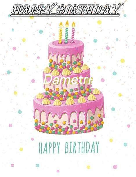 Happy Birthday Wishes for Dametria