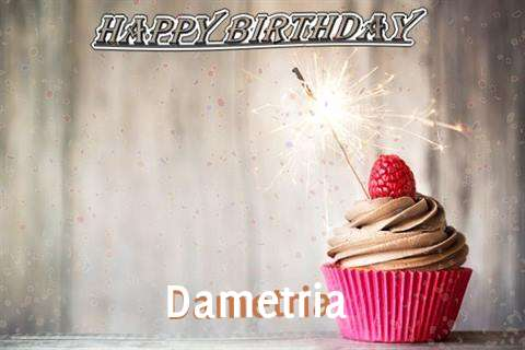 Happy Birthday to You Dametria