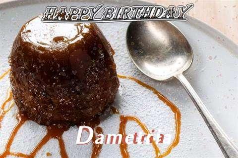 Happy Birthday Cake for Dametria