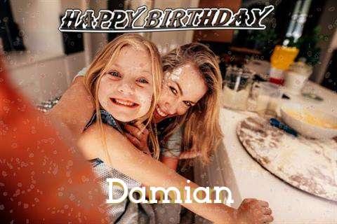 Happy Birthday Damian