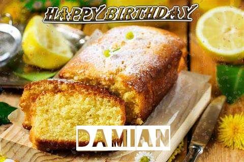 Happy Birthday Cake for Damian