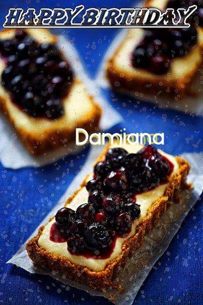 Happy Birthday Damiana