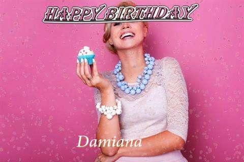 Happy Birthday Wishes for Damiana