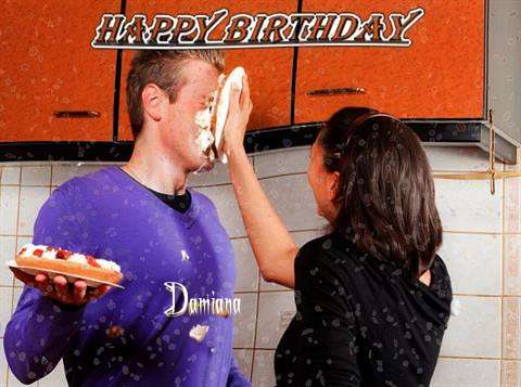 Happy Birthday to You Damiana