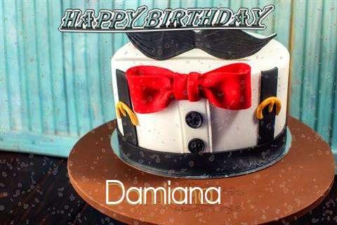 Happy Birthday Cake for Damiana