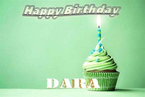 Happy Birthday Wishes for Dara