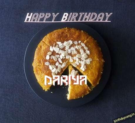 Happy Birthday Dariya Cake Image