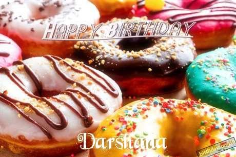 Happy Birthday Cake for Darshana