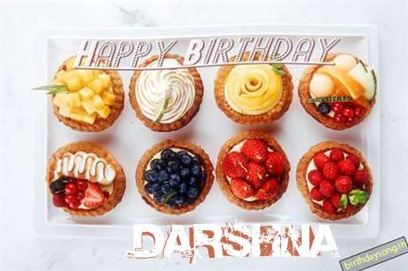 Happy Birthday Cake for Darshna