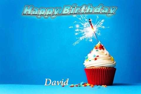 Happy Birthday to You David