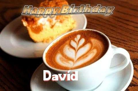 Happy Birthday Cake for David