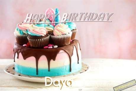 Happy Birthday Daya