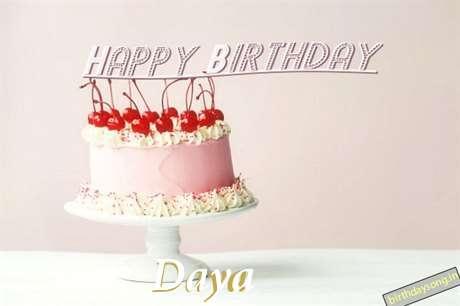 Happy Birthday to You Daya